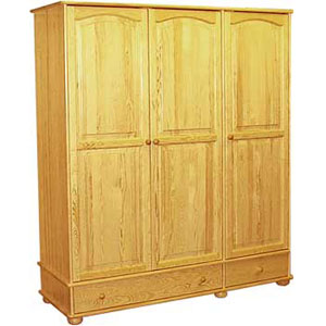 szafa 3 drzwiowa z dwoma szufladami