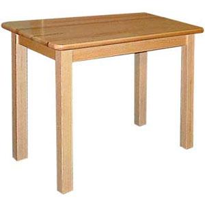 stół prostokątne z drewna litego