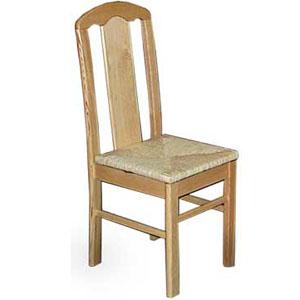 krzesła z wiklinową